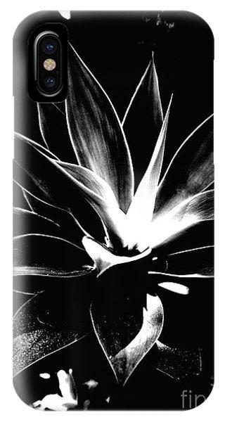 Black Cactus  IPhone Case