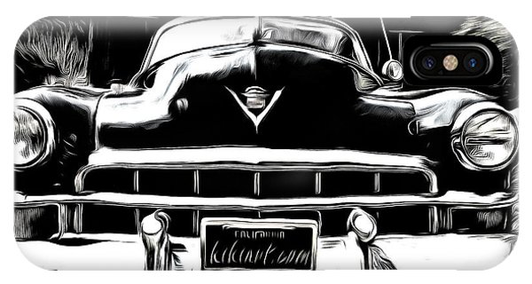 Black Cadillac IPhone Case