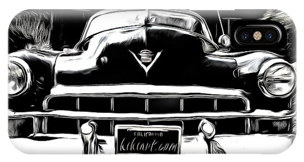 Black Cadillac IPhone Case