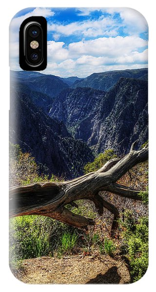 Black Canyon Of The Gunnison First Look IPhone Case