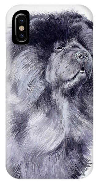 Black Chow Chow  IPhone Case