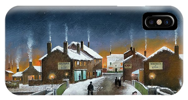 Black Country Winter IPhone Case