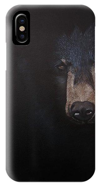 Black Danger IPhone Case