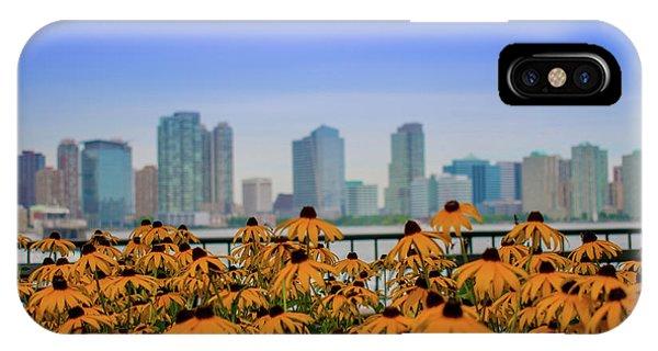 Black Eyed Susans In Battery Park IPhone Case