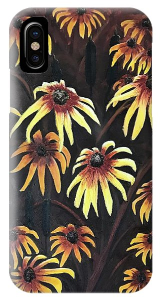 Black Eyed Susie IPhone Case