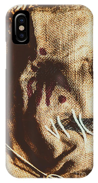 Rural iPhone Case - Black Eyes And Dried Out Hearts by Jorgo Photography - Wall Art Gallery