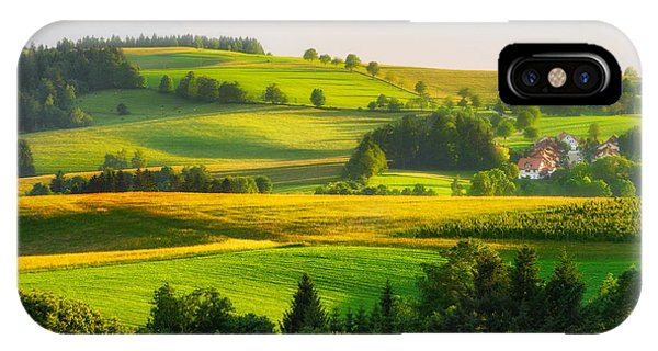 Black Forest Landscape IPhone Case