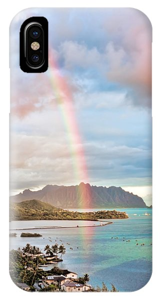 Black Friday Rainbow IPhone Case
