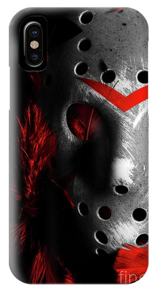 Hockey iPhone Case - Black Friday The 13th  by Jorgo Photography - Wall Art Gallery