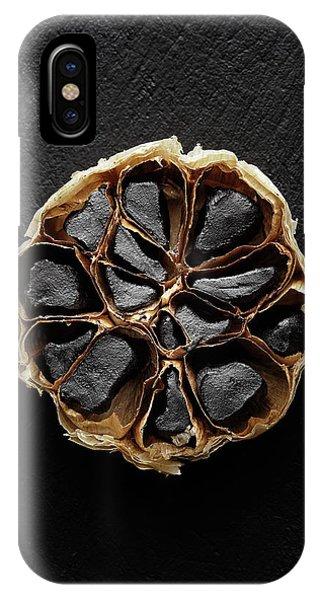 Black Garlic Cross-section IPhone Case