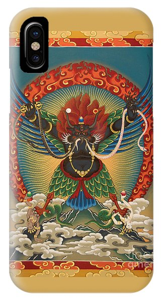 Black Garuda - Tsasum Tersar IPhone Case