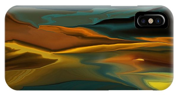 Black Hills Abstract IPhone Case