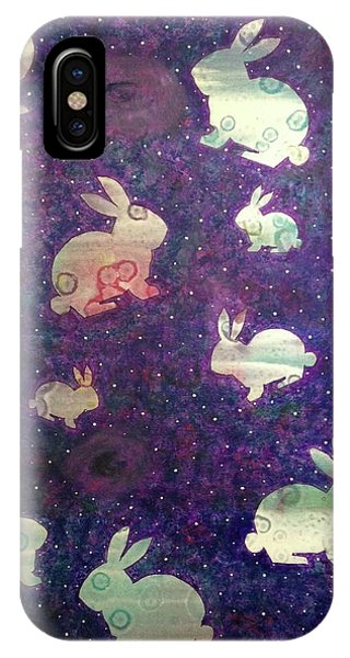 Black Holes And Bunnies IPhone Case