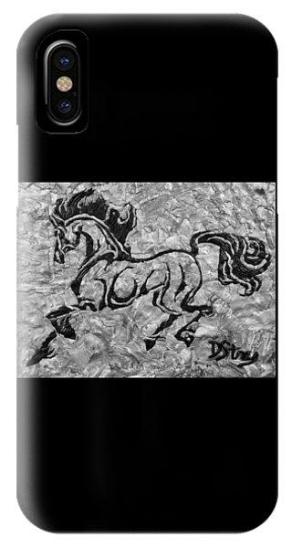 Black Jack Black And White IPhone Case