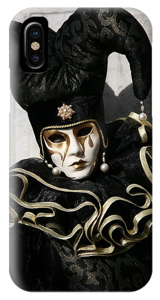 Black Jester IPhone Case
