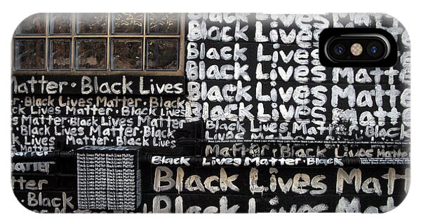 Black Lives Matter Wall Part 1 Of 9 IPhone Case