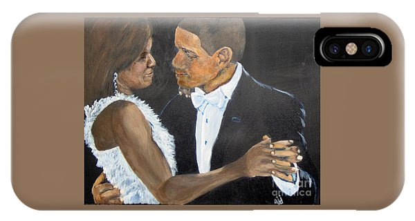 IPhone Case featuring the painting Black Love Is Black Power by Saundra Johnson