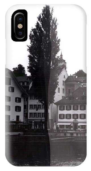 iPhone Case - Black Lucerne by Christian Eberli