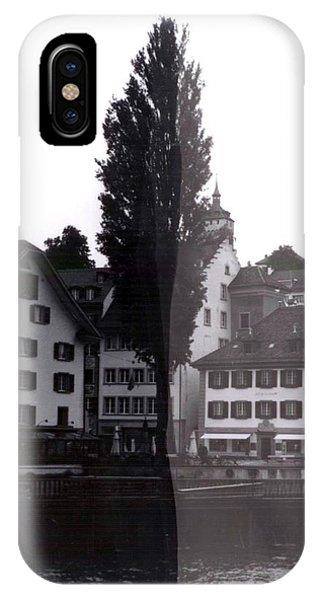iPhone Case - Black Lucerne by Christian Eberli
