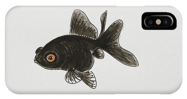 Black Moor IPhone Case