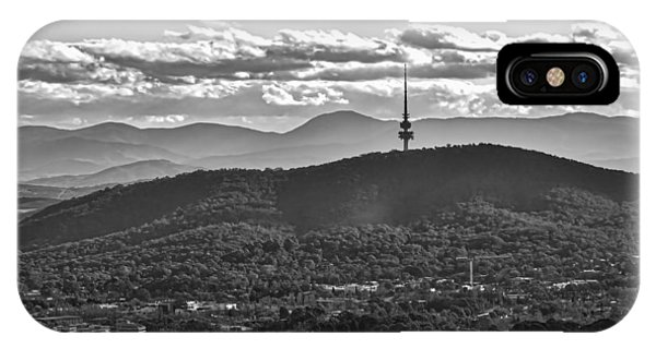 Black Mountain - Canberra - Australia IPhone Case