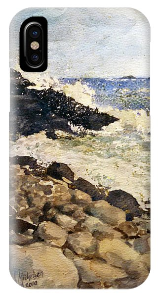 Black Rocks - Lake Superior IPhone Case