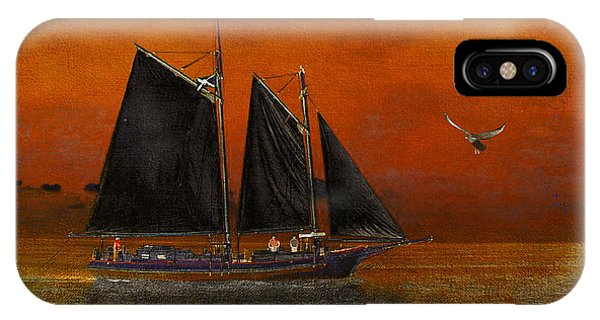 Black Sails In The Sunset IPhone Case