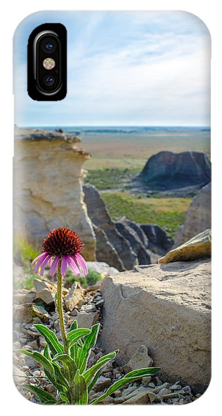 Black Sampson In The Badlands IPhone Case