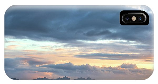 Black Sand iPhone Case - Black Sand Sunset Iceland by Brad Scott