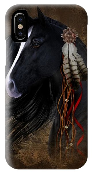 Black Stallion  IPhone Case
