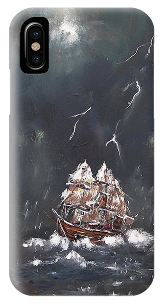 Black Storm IPhone Case