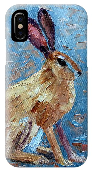 Black-tailed Jackrabbit IPhone Case