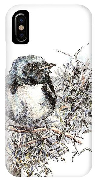 Black-throated Blue Warbler IPhone Case