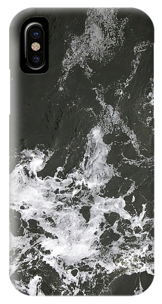 Black Water Marble  IPhone Case