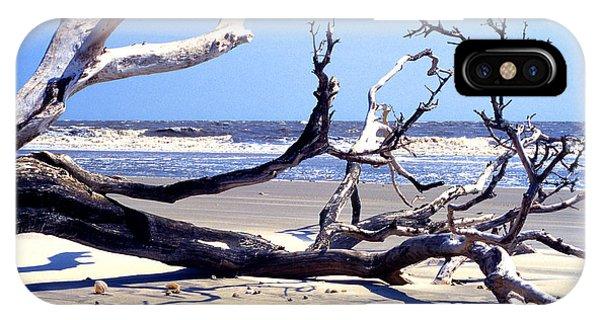 Blackbeard Island Beach IPhone Case
