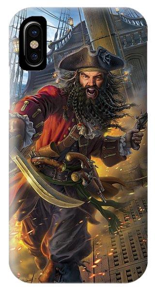 Blackbeard IPhone Case