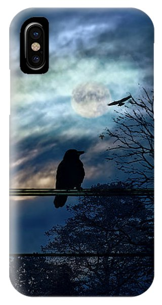 Blackbird And Moonlight Serenade IPhone Case