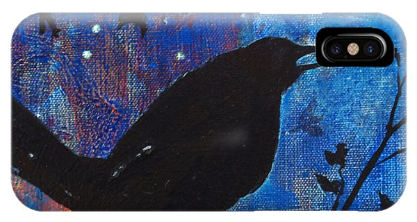 Blackbird Singing IPhone Case