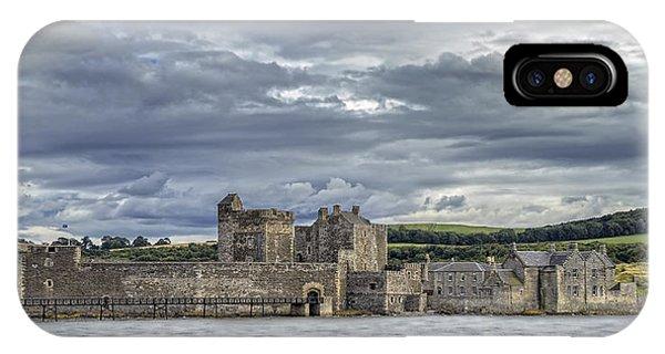 Blackness Castle IPhone Case