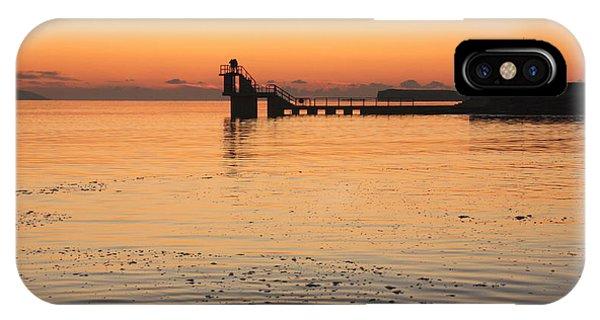 Blackrock Sunset IPhone Case