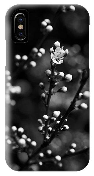 Blackthorn Flower IPhone Case