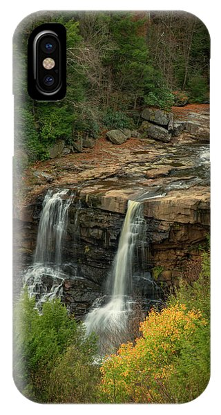 IPhone Case featuring the photograph Blackwater Falls by David Waldrop