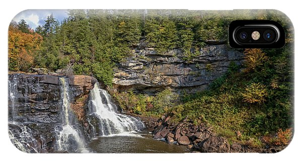 Blackwater Falls  In Autumn 3879c IPhone Case