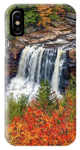 Steve Harrington iPhone Case - Blackwater Falls  by Steve Harrington