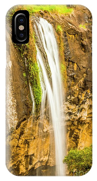 Greenery iPhone Case - Blackwood Forest Waterfall by Jorgo Photography - Wall Art Gallery