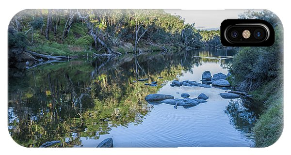 Blackwood River Rocks, Bridgetown, Western Australia IPhone Case