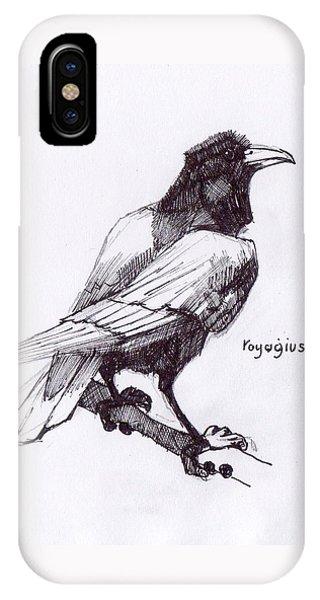 Sketch For Black  IPhone Case