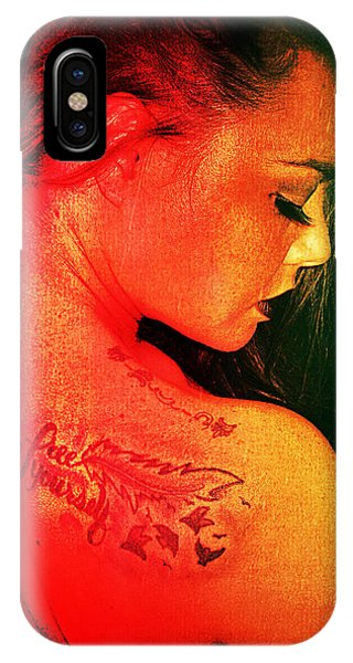 IPhone Case featuring the digital art Blair 6 by Mark Baranowski
