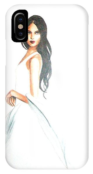 Blanca IPhone Case