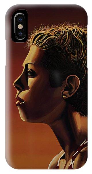 Blanka Vlasic Painting IPhone Case